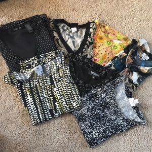 Tops - Bundle of 7 summer tops size medium